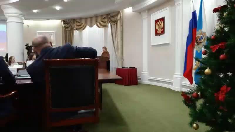 Церемония вручения паспортов губернатором Архангельской области И А Орловым