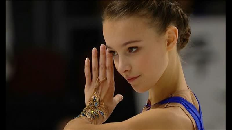 Аня Щербакова (жар птица 15 лет) - чемпионка Гран-при Skate Amerika среди взрослых (Произошло чудо, 2 четверных впервые)