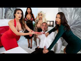 Brazzers Bridgette B, Katana Kombat, Luna Star, Victoria June - Office 4-Play Latina Edition NewPorn2019