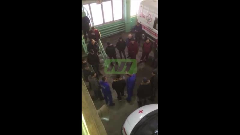 Забастовка водителей скорой помощи. Нижневартовск