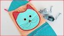 Как сшить кармашки в детский сад органайзер How to sew pockets in a kindergarten organizer