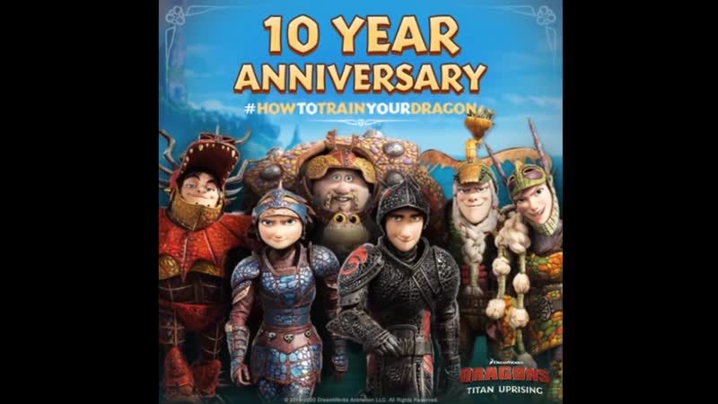 Today marks the 10 Year Anniversary of the first HowToTrainYourDragon movie