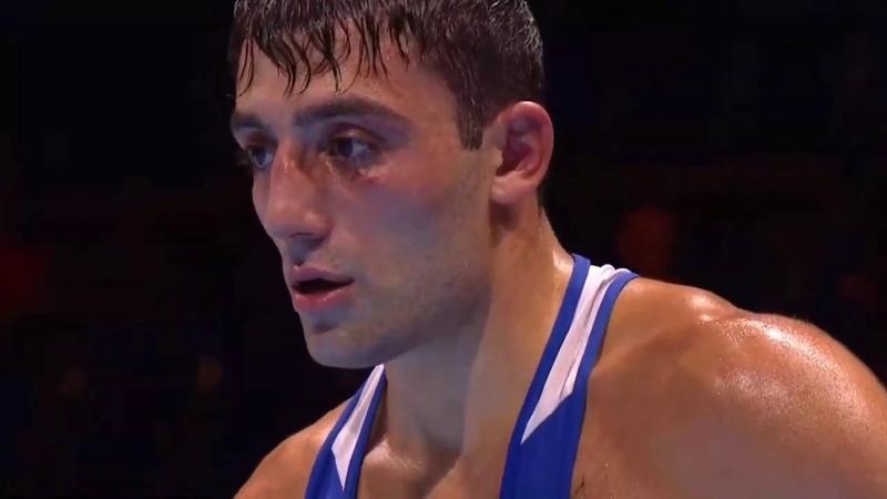 Георгий Кушиташвили (Россия, Бурятия) - Сэмми Ли (Уэльс). Чемпионат мира по боксу 2019