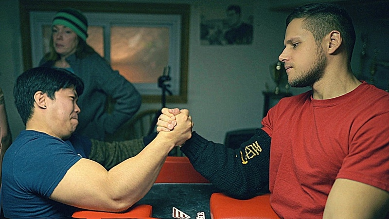 Arm Wrestling in Queens, New York training 2