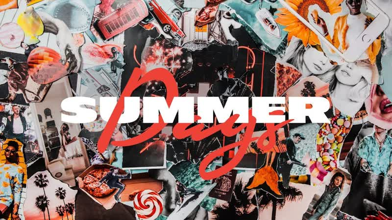 Премьера. Martin Garrix feat. Macklemore Patrick Stump of Fall Out Boy - Summer Days (Lyric Video)