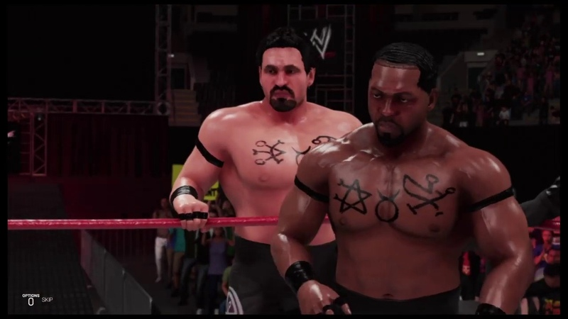 WWE 2K19 The Corporate Ministry vs The Union Raw Is War '99 Tag Team Match