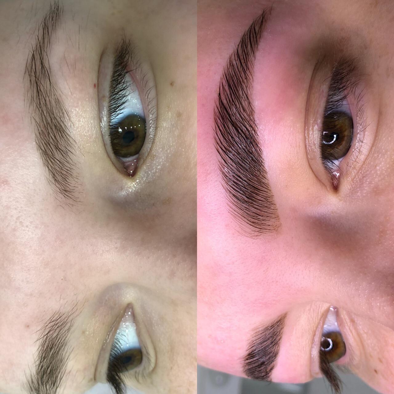 Ищу модель на ламинирование бровей с тонким волосом, с коррекцией без окрашивания.