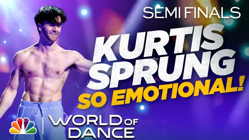 Kurtis Sprung Dances to Monsters by James Blunt H2O The Semi Finals 2020