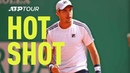 Hot Shot: Lajovic Is Everywhere In The 2019 Monte-Carlo Final