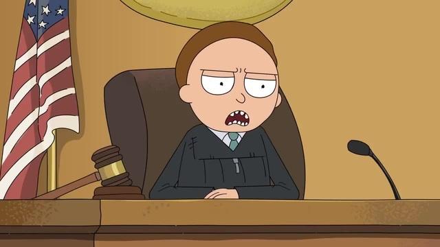 Рик и Морти Самый Гуманный Суд в Мире Сыендук