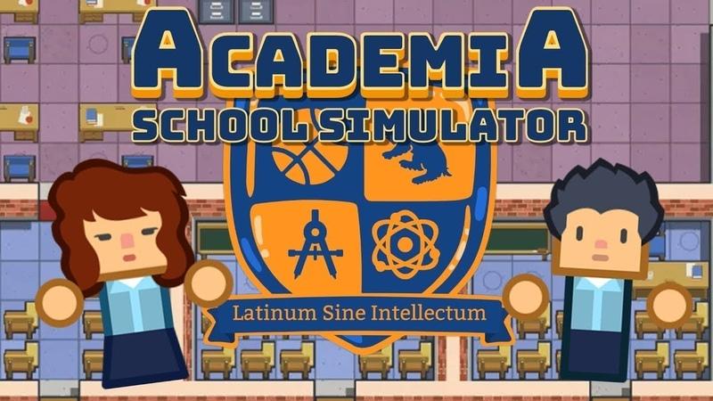 Academia School Simulator Симулятор школы Серия 2 Первые ученики