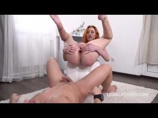 Gisha Forza Balls Deep Anal, Gapes, Rough Sex, Cum in mouth Anal, Gape, Redhead GL068