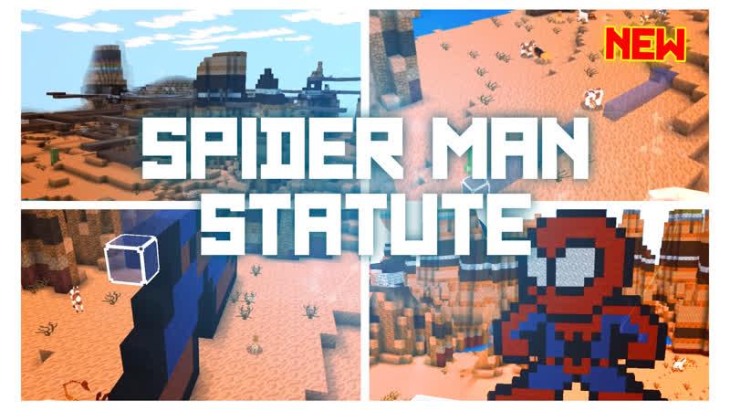 PrimalCraft Cubes Craft Survive Game || Статуя Человека Паука
