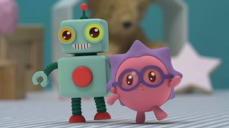 Малышарики Раз два три серия 160 Обучающие мультфильмы для малышей танцы