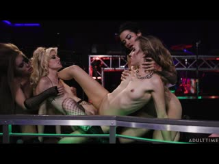 Karla Kush, Charlotte Stokely, Katrina Jade, Lena Paul - Rock You Like A Hurricane [Lesbian]