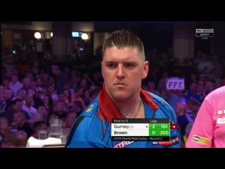 Daryl Gurney vs Keegan Brown (PDC World Matchplay 2019 / Round 2)