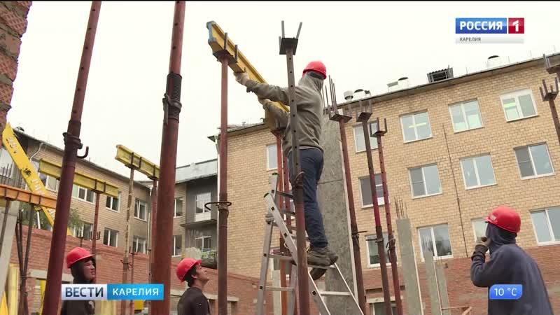 В БСМП Петрозаводска строят новое приемное отделение