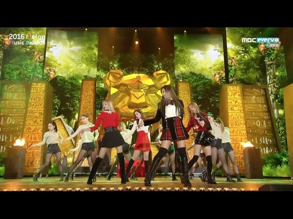 BLACKPINK - '휘파람(WHISTLE)' '불장난 (PLAYING WITH FIRE)' in 2016 MELON MUSIC AWARDS