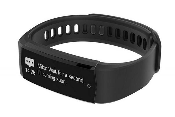 Lenovo Smart Band Cardio 2: OLED-дисплей, датчик