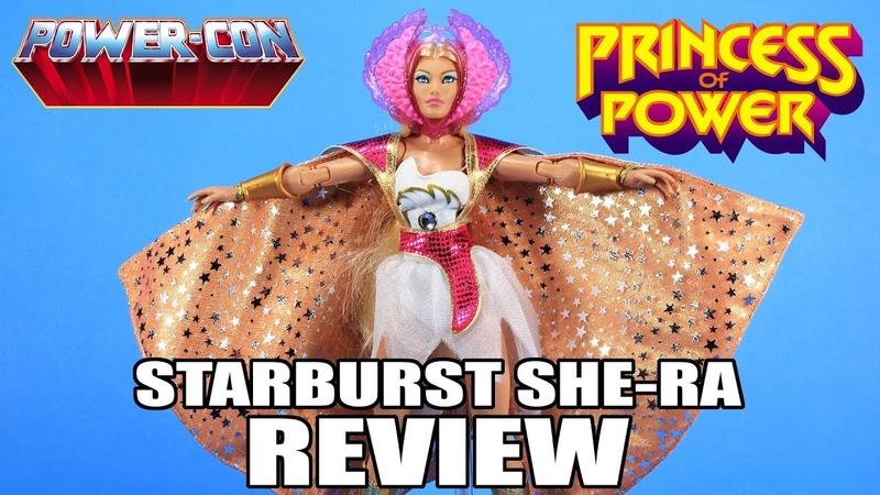 ОБЗОР: Starburst She-Ra, Power-Con Exclusive