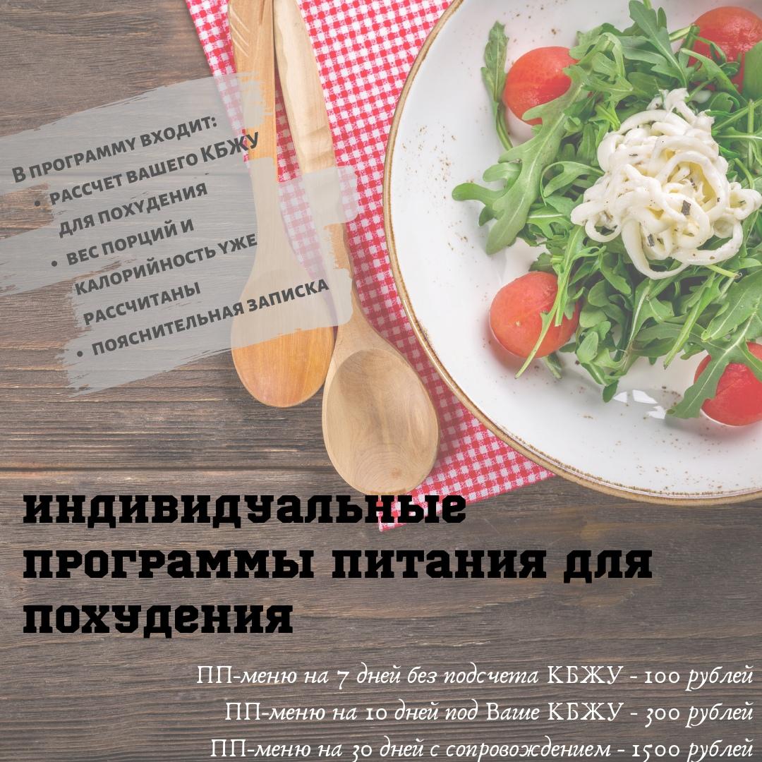 Приложение Программа Питания Для Похудения.