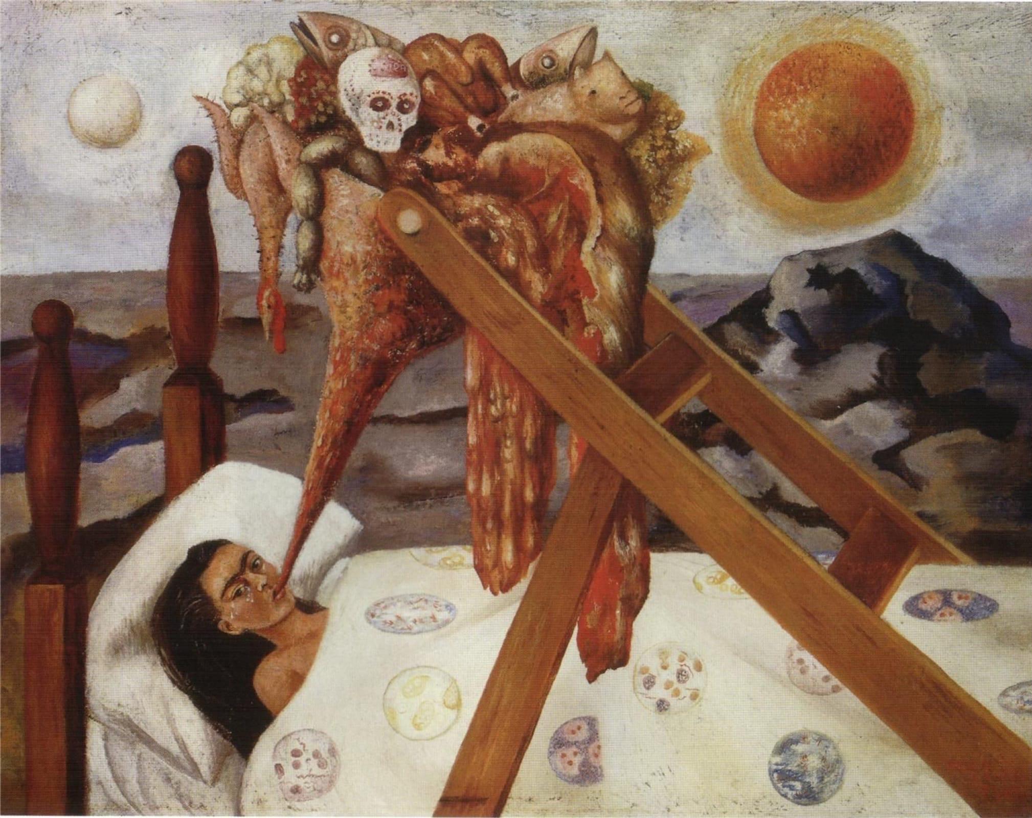 Фрида Кало «Без надежды», 1945