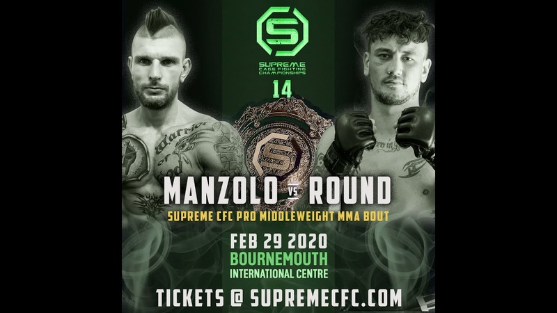 Andy Manzolo VS David Round Pro MMA