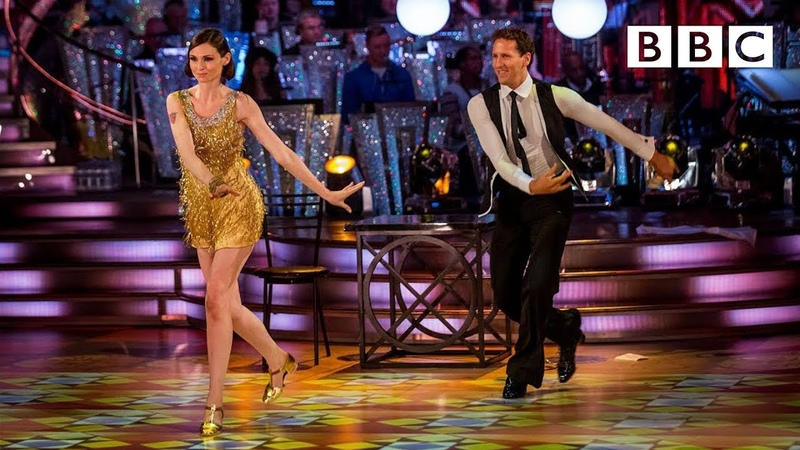 Sophie Ellis Bextor Brendan Charleston to 'Rock It For Me' Strictly Come Dancing BBC One