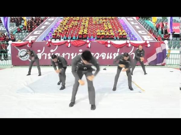ตำรวจเต้นบีบอยเท่ส์ๆ Must See Thailand Police Dance B- Boy