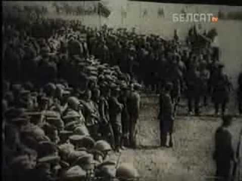 Подвиг красных партизан в деревне Дражно Беларусь 1943г