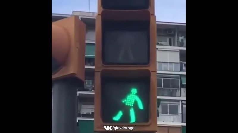 Забавный светофор 🤣