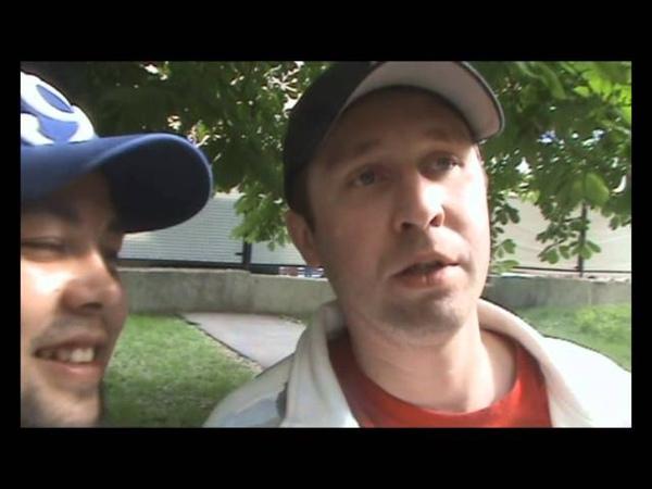 Lojaz Убитые Рэпом выложил видео с Купером Москва август 2012 г
