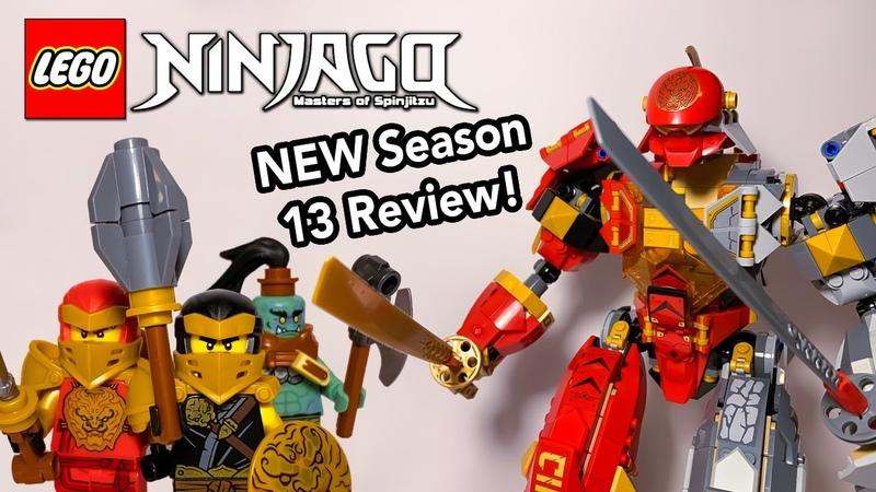 LEGO Ninjago Fire Stone Mech Review! New Summer 2020 Season 13 Set 71720