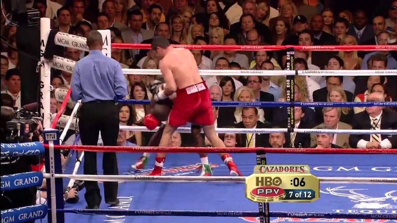 Оскар Де Ла Хойя Флойд Мейвезер Oscar De La Hoya vs Floyd Mayweather Jr