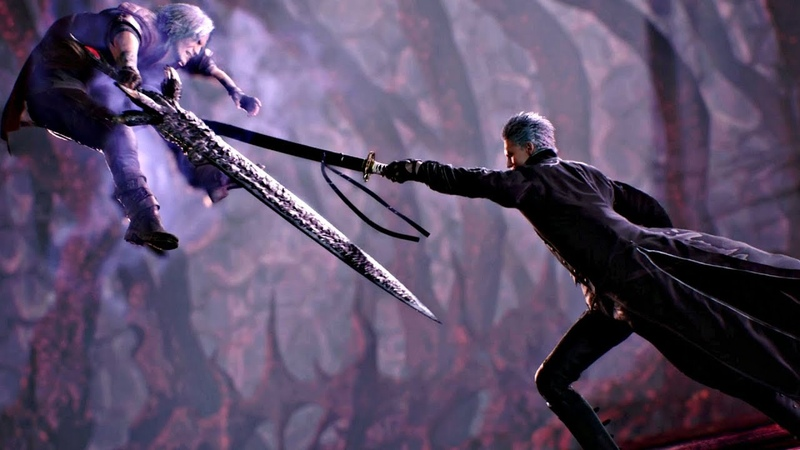 Devil May Cry 5 - All Vergil Cutscenes (DMC5 2019) PS4 Pro