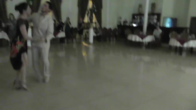 Милонга 21.10.18 Полька от Днонатана и Юлии. Второй общий танец. Ресторан Империя