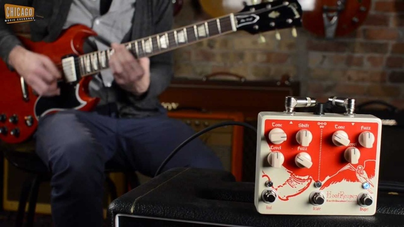EarthQuaker Devices Hoof Reaper Dual Octave Fuzz Demo