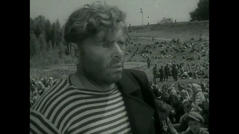 Интернационал (гимн СССР (1922–1944)) поют советские военнопленные (Они шли на восток, 1964)