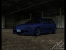 EG6 SiR II Time Attack Black Cat Country Strong VTEC B16B Rev
