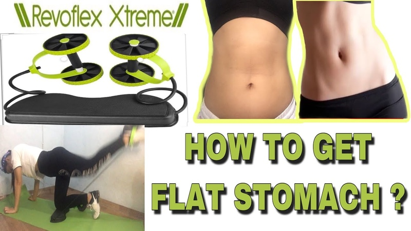 ABS ROLLER EXERCISE MACHINE REVOFLEX XTREME Home Workout