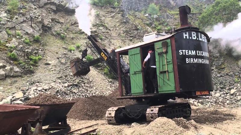 Erie Steam Shovel at Threlkeld Quarry