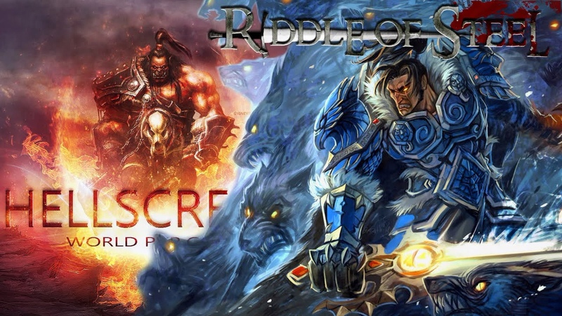 Riddle of Steel vs H E L L S C R E A M Остров Завоеваний 40х40