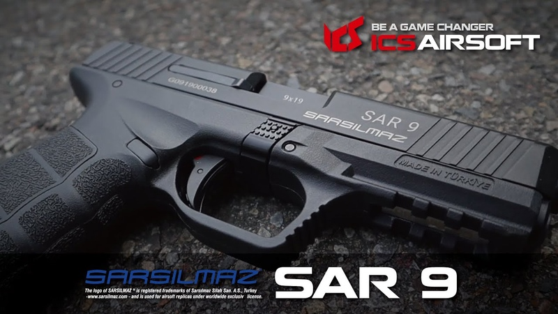 SARSILMAZ licensed SAR 9│Smart Tactical│ICS Airsoft