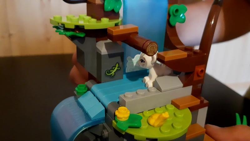Обзор набора Спасение тигра на воздушном шаре Лего френдс новинка июнь 2020