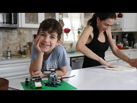 Arqa's 7th Lego Birthday - Heghineh Family Vlog Ep 1 - Heghineh Cooking Show