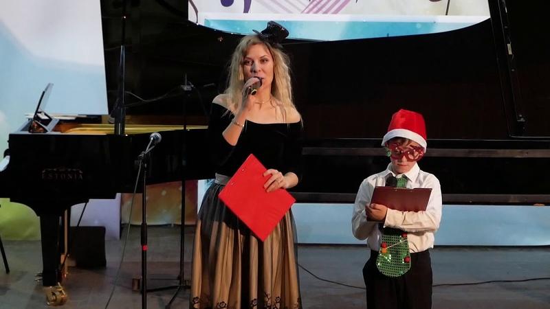 Праздничный концерт в школе искусств Славянска - 26.12.2019