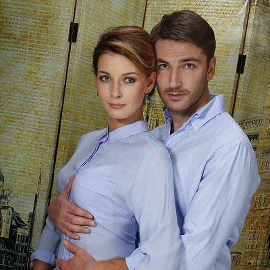 Любава Грешнова с мужем Михаилом Пшеничным.