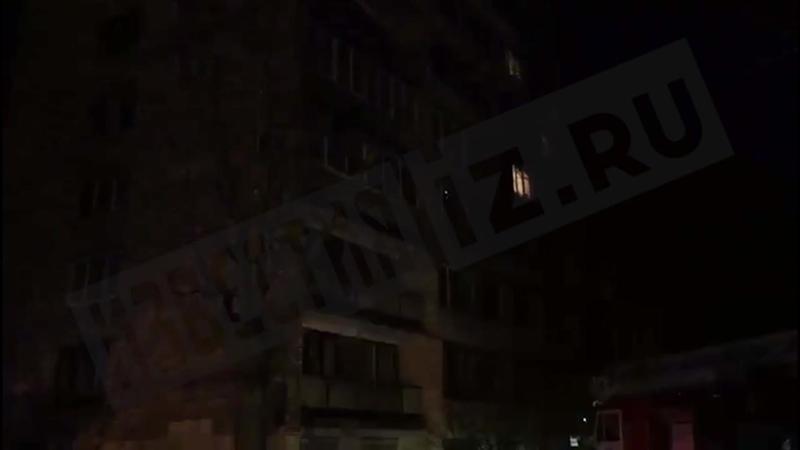 Пожар в квартире на Большой Пороховской улице