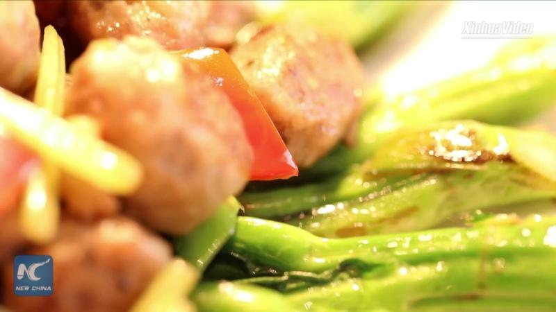 Вкус Китая: рыбные фрикадельки с овощами