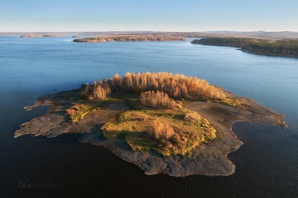 Острова «Свердловского моря»Фотограф: [id673099|Sergey Ga...